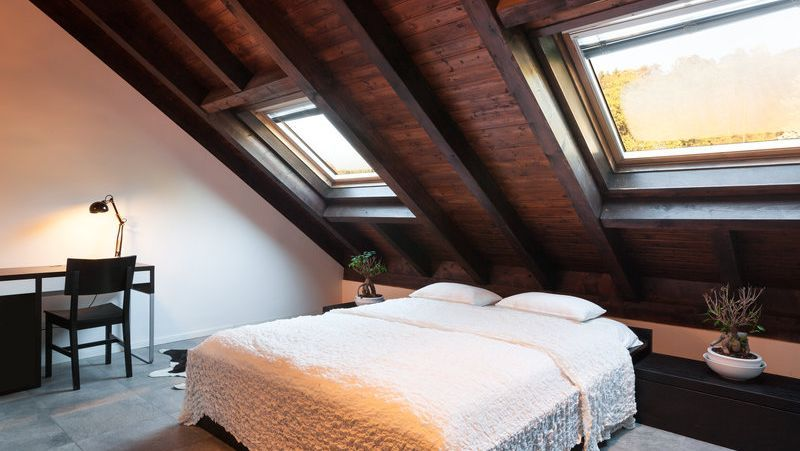 roof conversion loughborough, leicestershire velux roof lights
